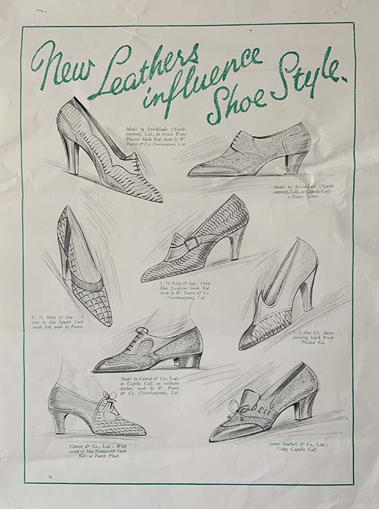 Leather Shoe Poster